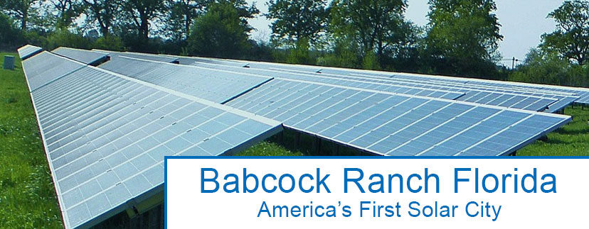 Babcock Ranch - America's first solar city is making headway