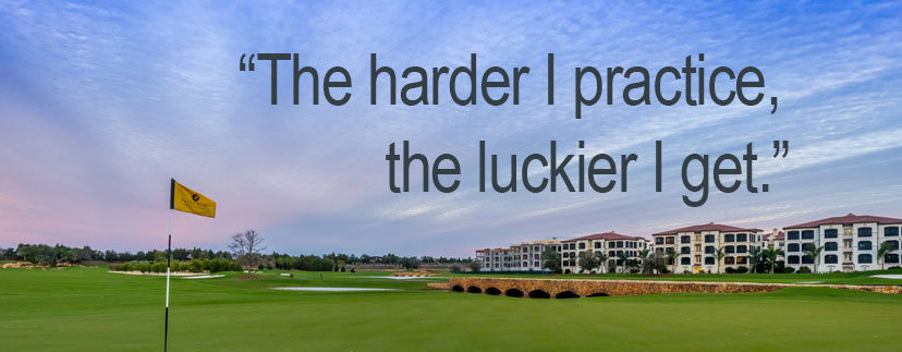 A golf quote to start your Talis Park weekend right